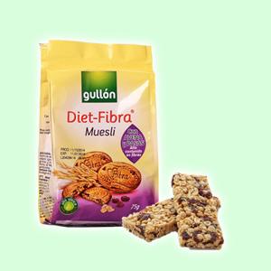 Diet-fibra multifrutas - Muestli Cereales