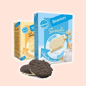 Bicentury Saliaris - De arroz - Barquillos rellenos